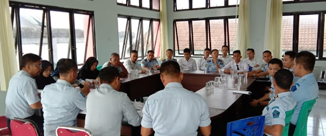 Lapas Sarolangun Laksanakan Rapat Evaluasi kinerja
