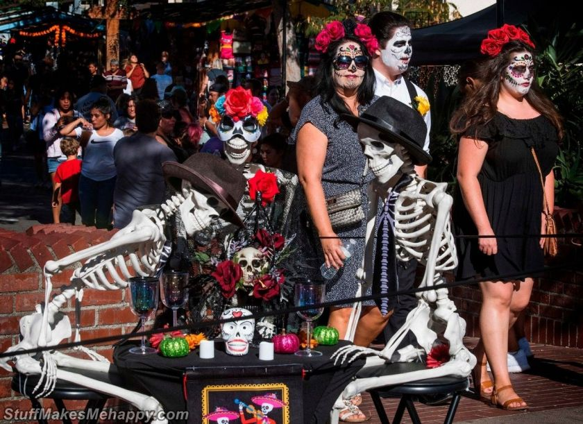 Day of the Dead Celebration 2019 in Mexico City (Pictures)