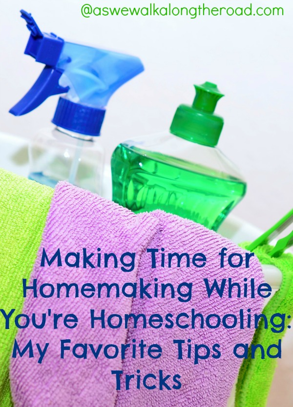 Homemaking and homeschooling