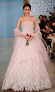 fotos de vestido de noiva colorido para morenas