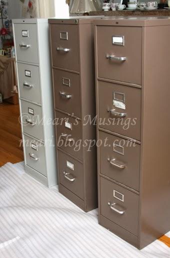 Mearis Musings DIY Filing Cabinet Makeover