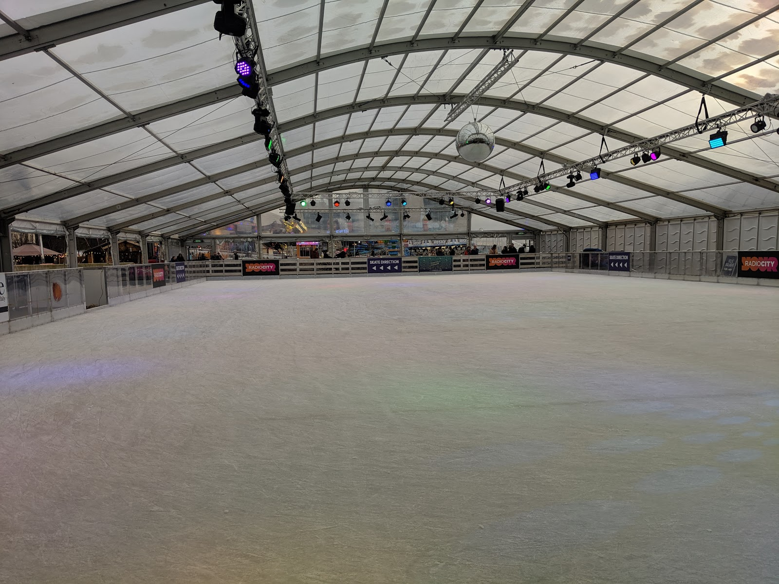A Guide to Visiting Liverpool Christmas Markets & Lights  - Liverpool Ice Festival Ice Rink