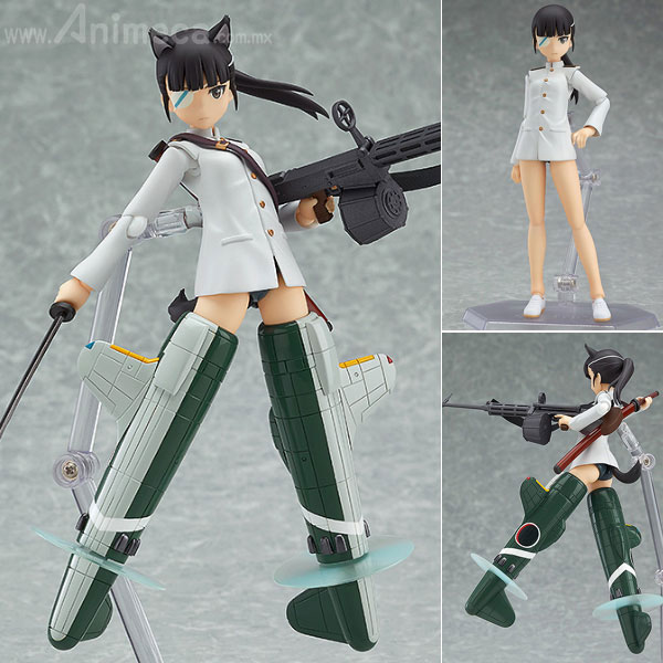 Figura Mio Sakamoto figma Strike Witches The Movie