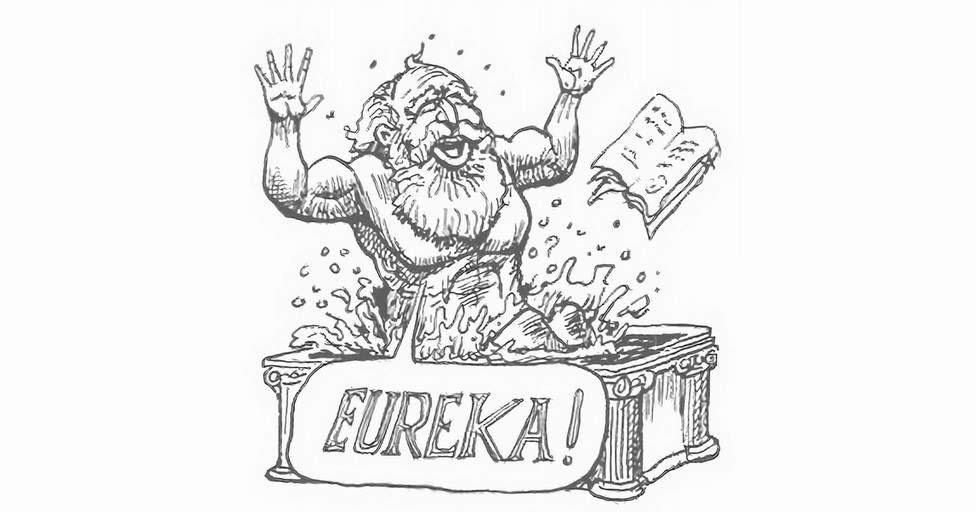 Ciencia y científicos: Eureka!, Arquímedes encontró la solución