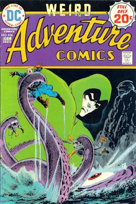 Weird Adventure Comics #436, the Gasmen and the Spectre