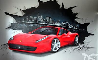 Voiture sportive pour ados - Ferrari