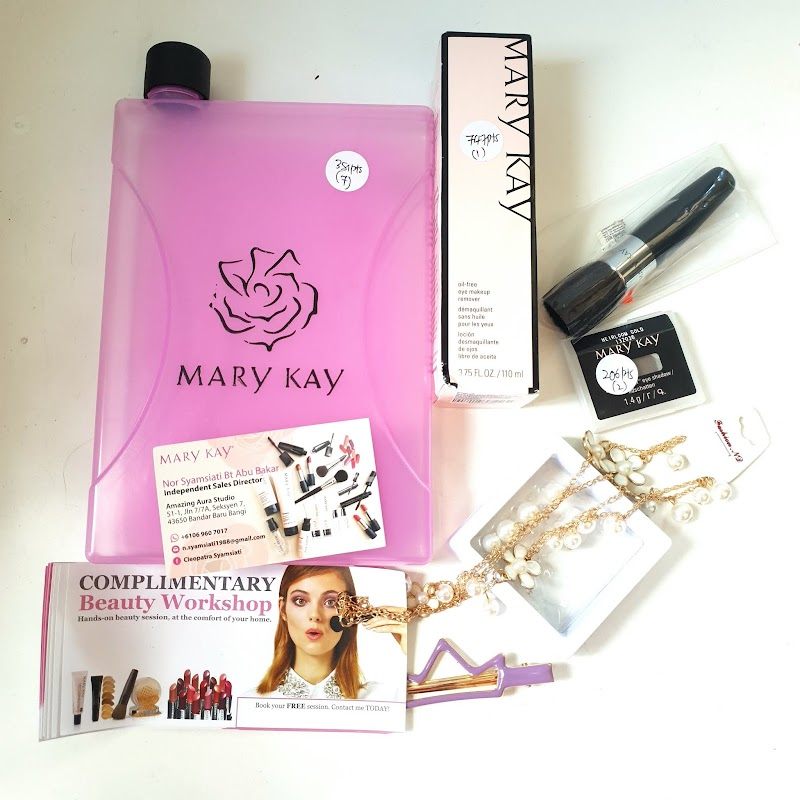 Dapat hadiah Mary Kay