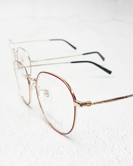 ESPRIT eyeglasses thin minimalistic alloy frames