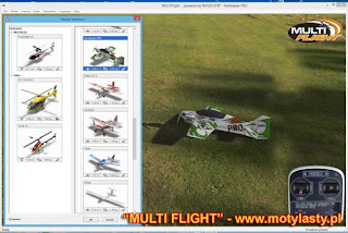 MultiFlight - symulator RC Multiplexa