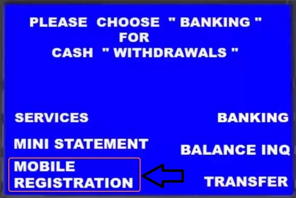 How you can register / change / update mobile number in any Bank by ATM?