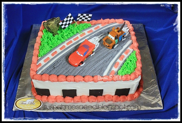 Race Car Birthday Cake Pictures