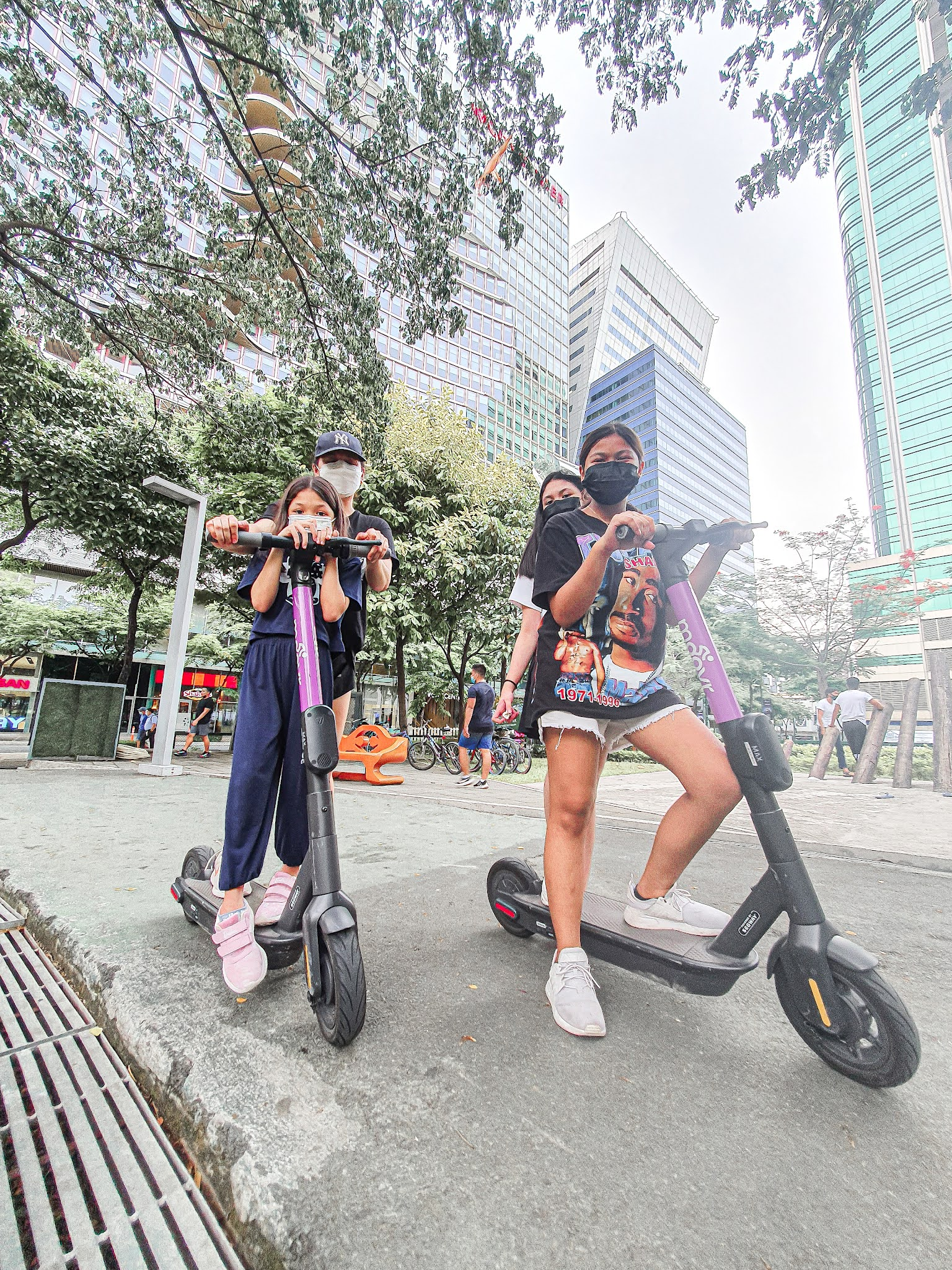 A day at the park in BGC with the kids., kids are allowed in BGC Park, where to bring kids this pandemic