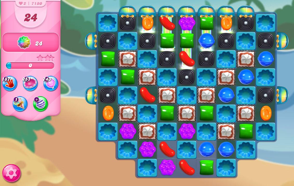 Candy Crush Saga level 7180