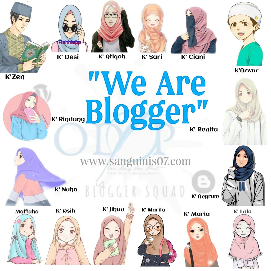 Squad Blogger ODOP