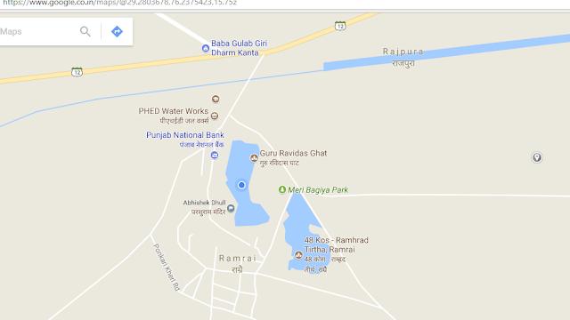 Ramrai map