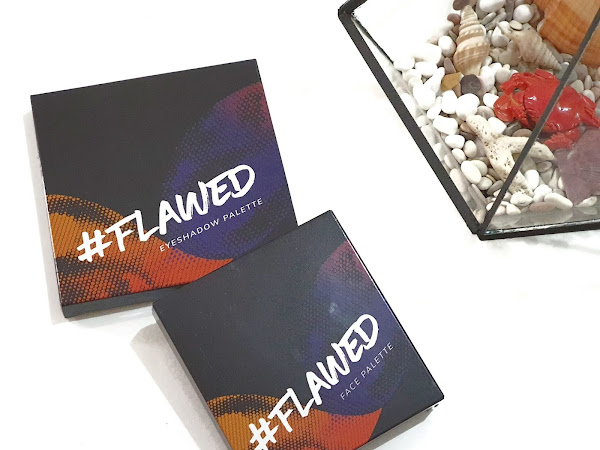 [Review] Flawed Eyeshadow and Face Palette