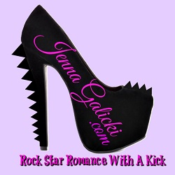 Jenna Galicki. Rock Star Romances with a Kick.