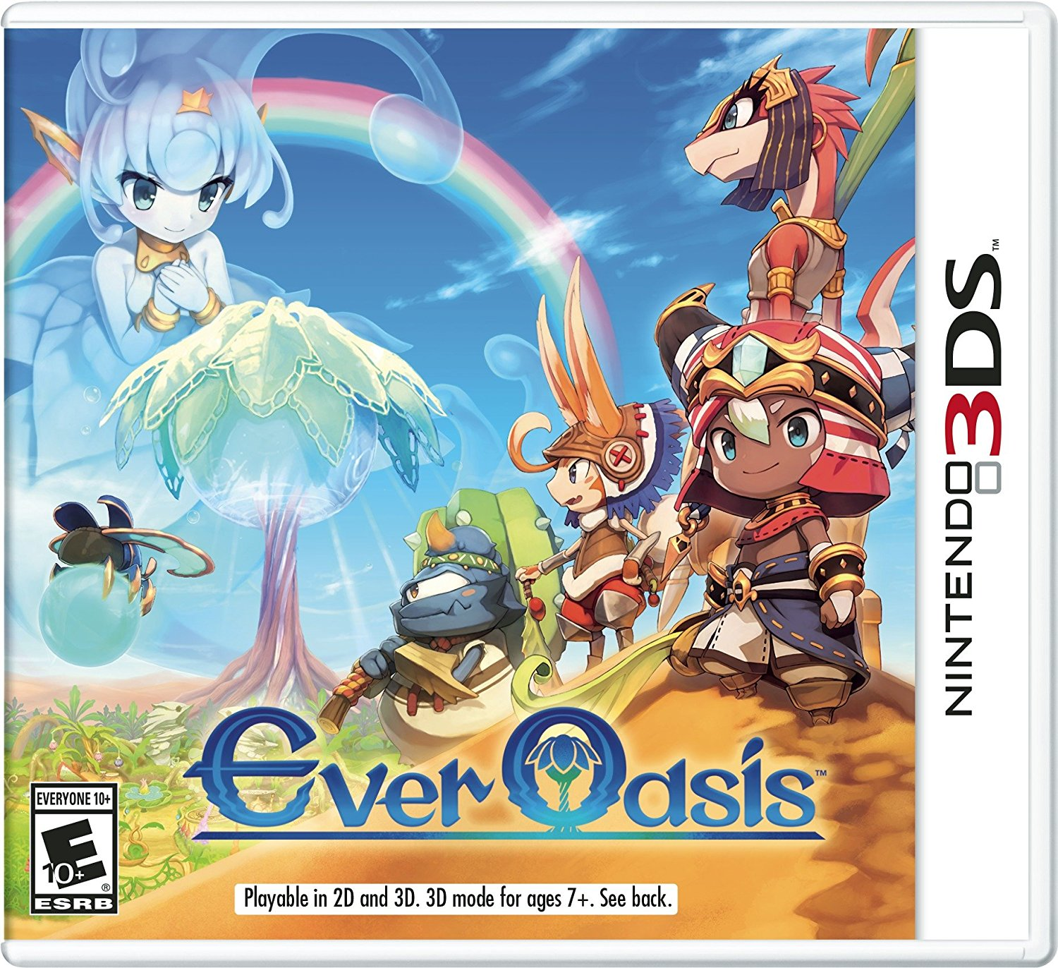 Ever Oasis | Download 3DS CIAs