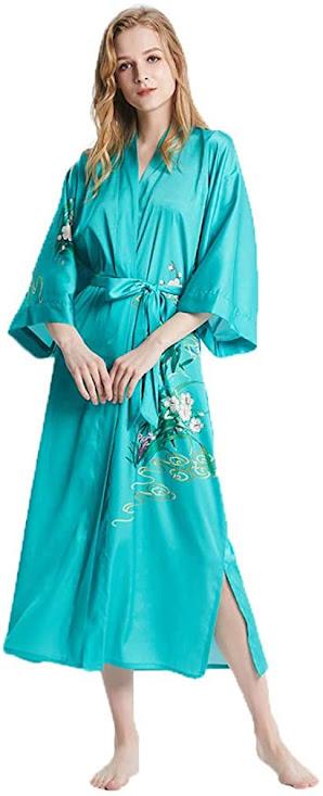 Best Women's Long Silk Robes