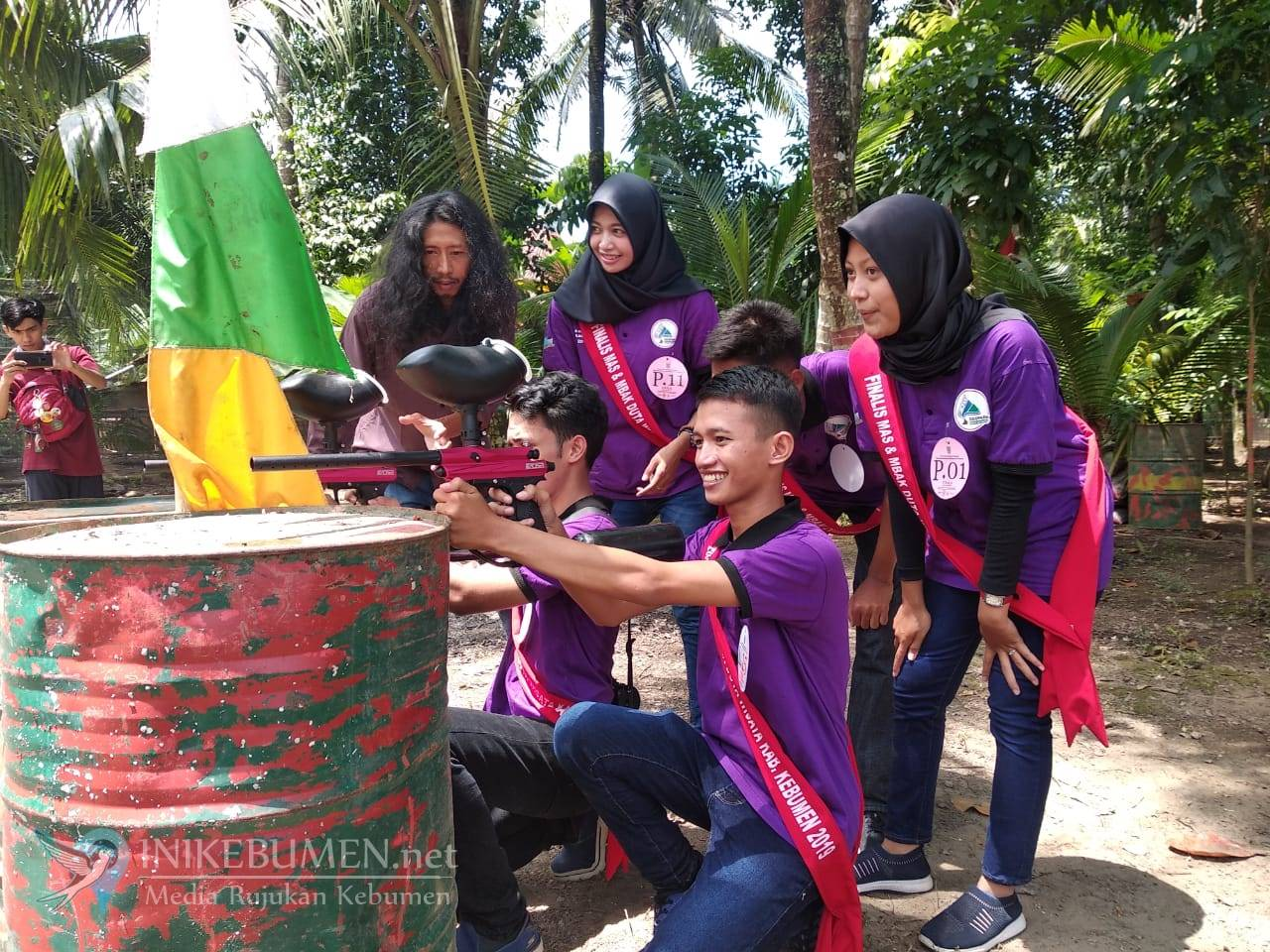 Finalis Mas dan Mbak Duta Wisata Kebumen Jalani Karantina