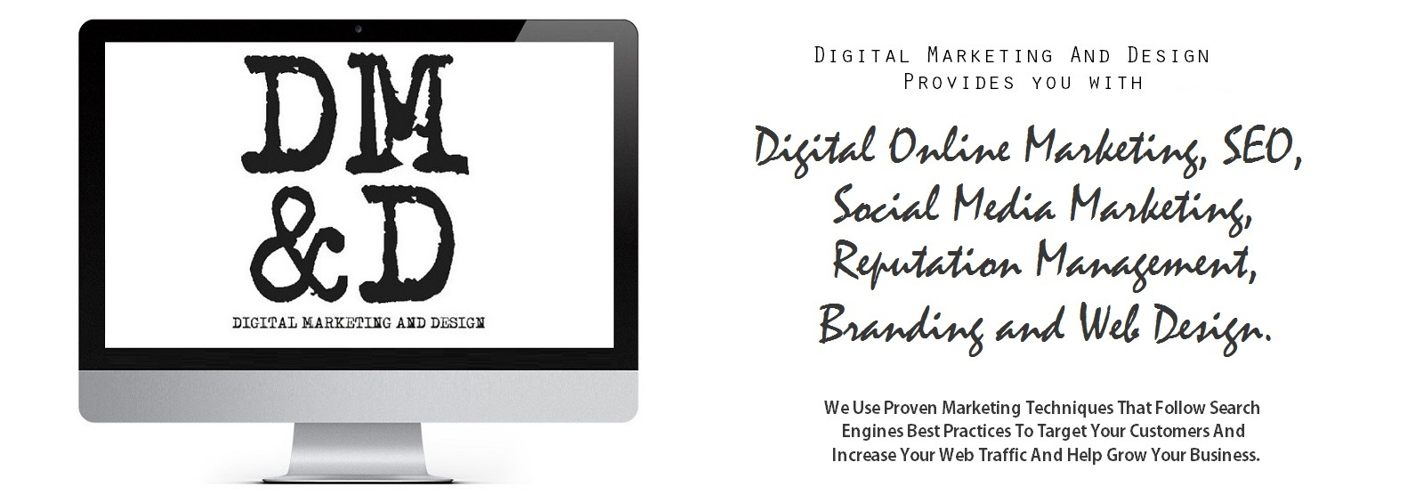 Our Services: SEO, Social Media Marketing, Web Design