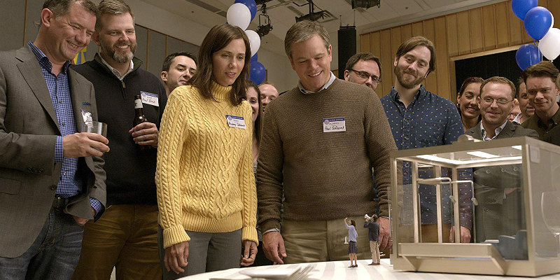 Now On Netflix - DOWNSIZING