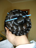 really long hair Braided Bun Hair styles Braided Updos Pictures