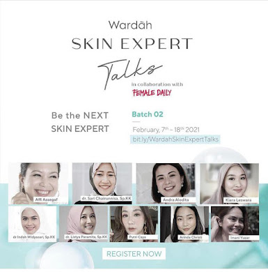Wardah skin expert talks
