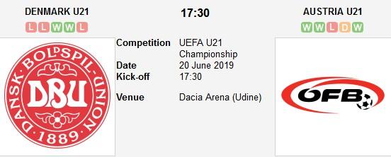 denmark u21 vs austria u21 live