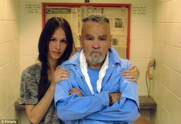 Afton Burton, 29, known as 'Star,' and Charles Manson. They plan to marry.