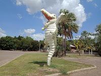 Northern Territory BIG Things | BIG Jumping Crocodile in Wak Wak