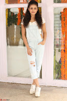 Mishti Chakraborty in lovely Jumpsuit and crop top at Wings Movie Makers Production No 1 movie launch ~  Exclusive 20.JPG