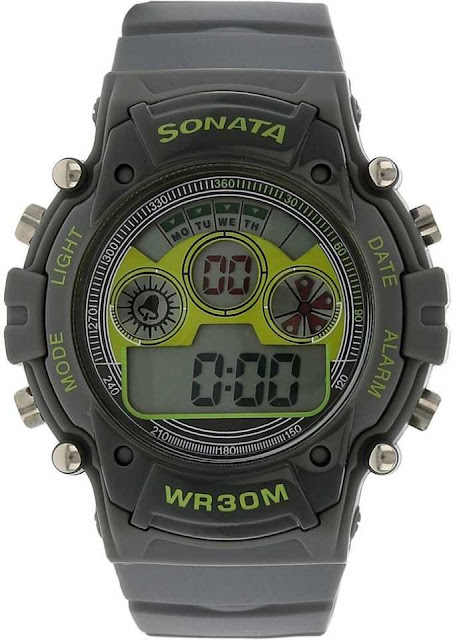 Sonata NH77006PP02J Digital Watch