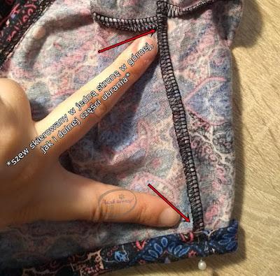 Komplet spódniczka i top DIY jak uszyć - Adzik tworzy