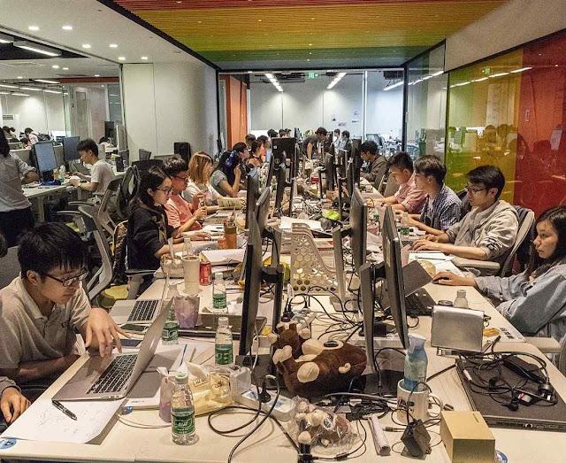 Empregados de Megvii monitoram cidadão em Pequim
