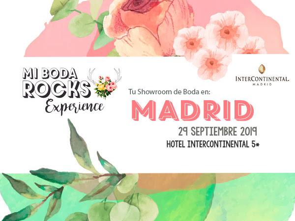 Expositores & Sorteos Mi Boda Rocks Experience Madrid