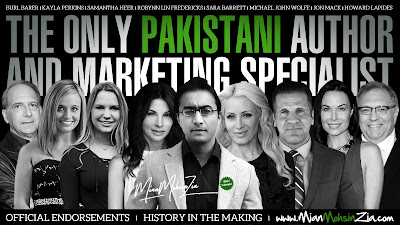 Mian Mohsin Zia - International Award Winning Author, Marketing & Publishing Specialist and Spokesmodel