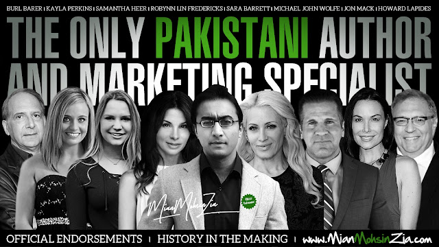 Mian Mohsin Zia - International Award Winning Author, Speaker, Spokesmodel, Marketing & Publishing Specialist