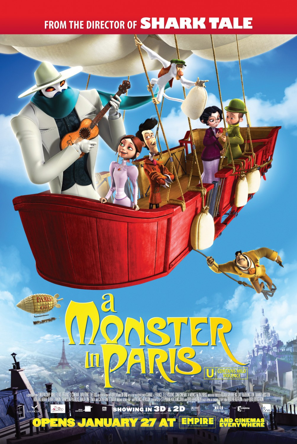Nonton Film A Monster in Paris (2011)