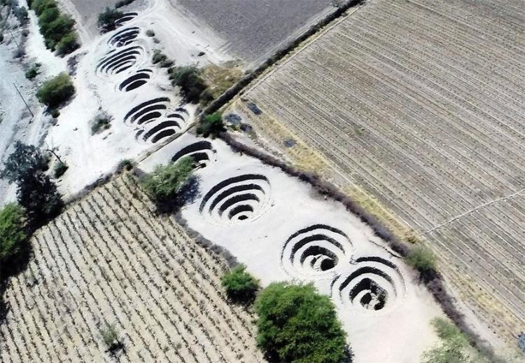 Τα αρχαία υδραγωγεία στην έρημο Νάζκα