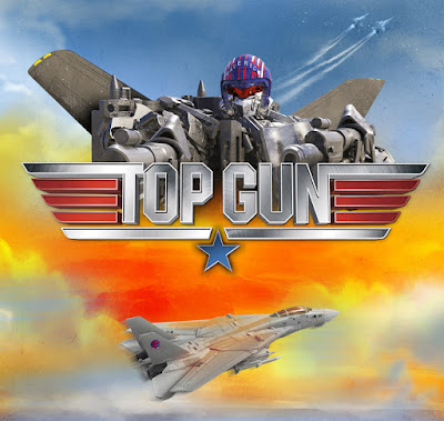 Hasbro Transformers x Top Gun Maverick Collab graphic