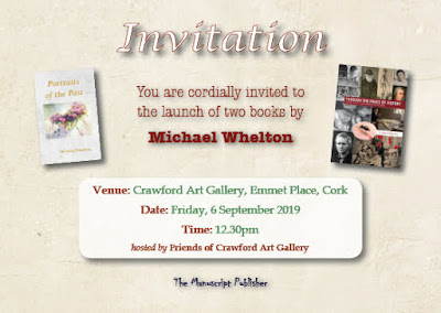 Book launch invitation - Michael Whelton