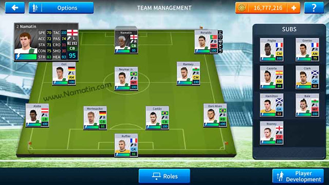 cara membuat player sendiri dream league soccer