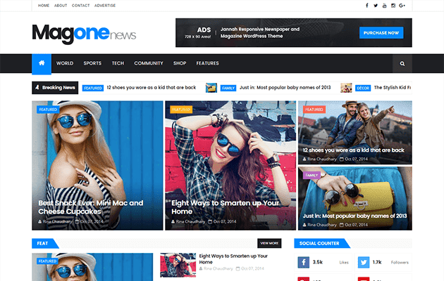 MagOne  Blogger Template