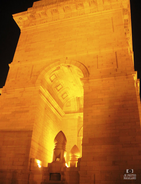 India Gate New Delhi photo amar jawan jyoti