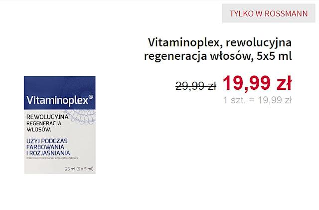 Vitaminoplex, rewolucyjna regeneracja włosów