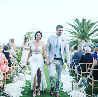 Olympic swimmer, Michael Phelps' wedding
