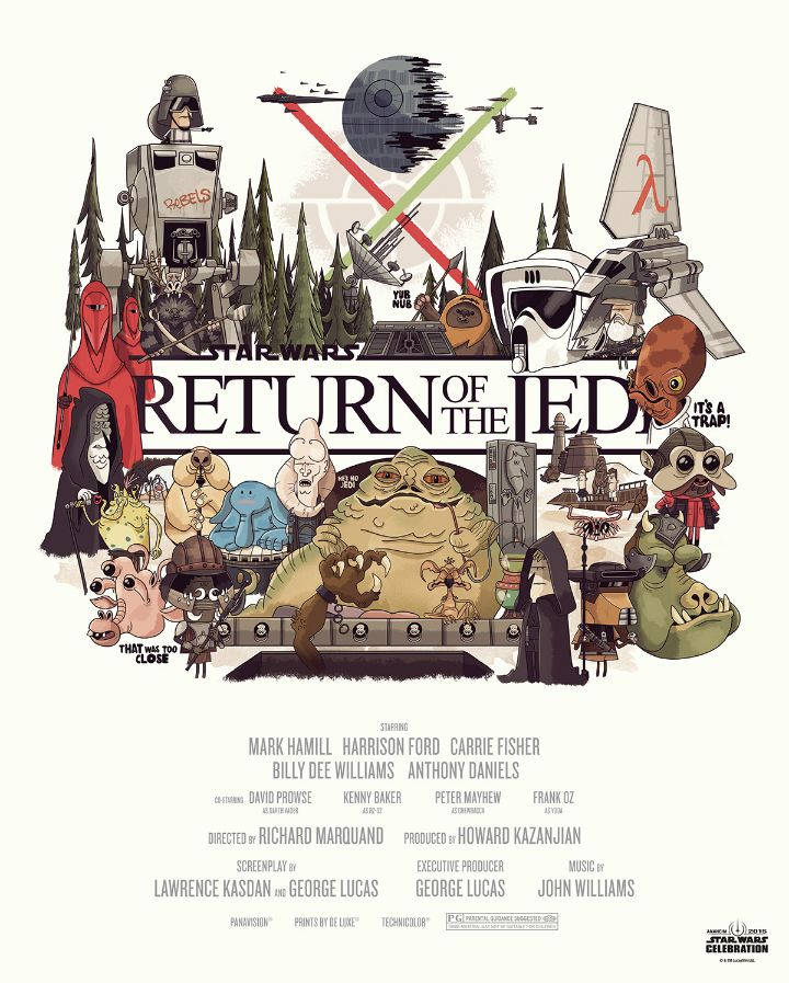 Star Wars - Illustrations - Return of the Jedi