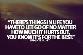 Quotes About Teenage Life:  there's things in life you have let go of no matter how mu chit hurts but,