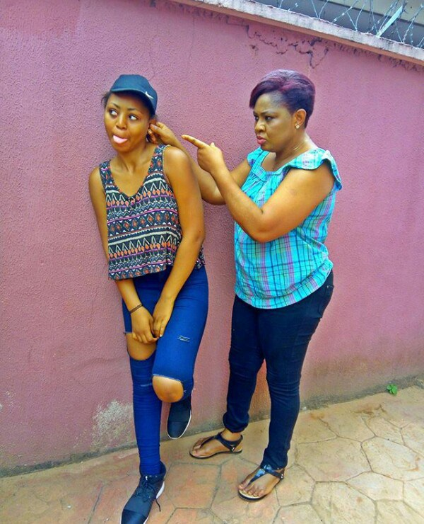 See Photos Of Actress Regina Daniels With Her Mom Who Is -2857